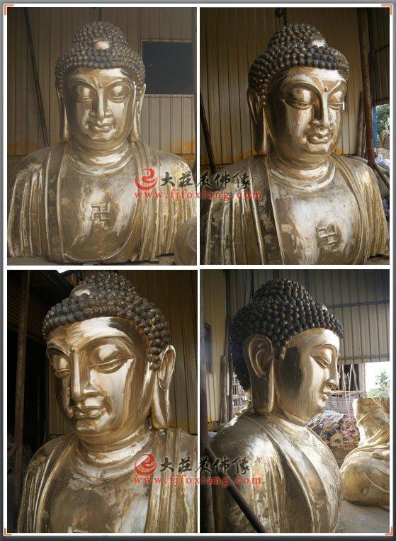 释迦牟尼佛铜像