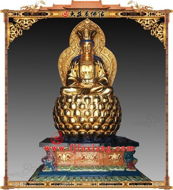 观世音菩萨铜佛像