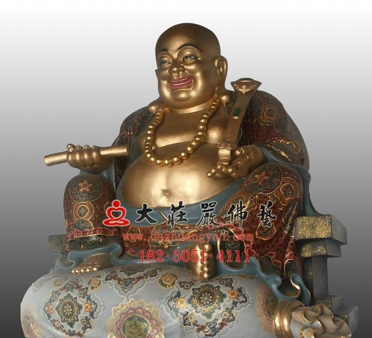 铜雕弥勒佛佛像