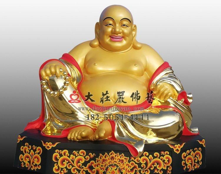 铜雕弥勒佛