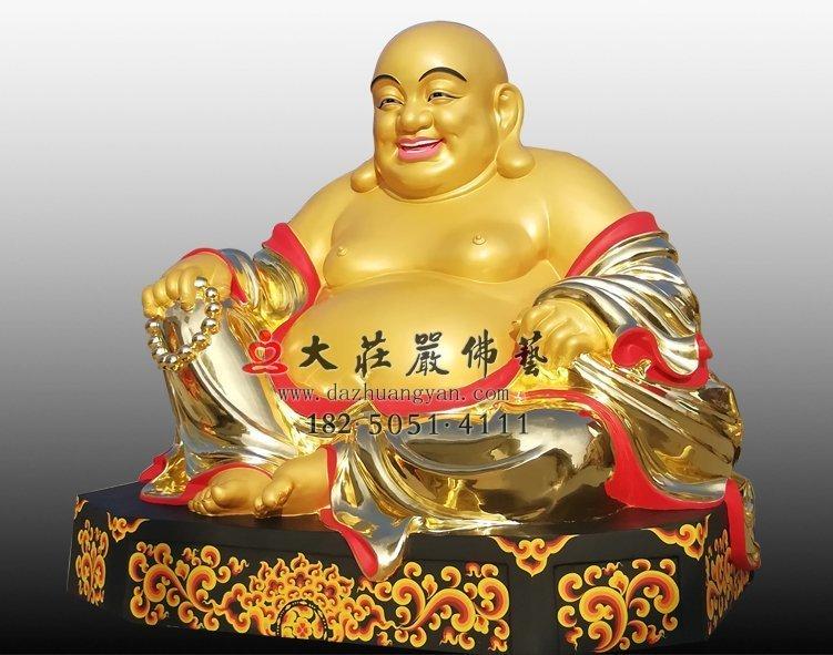 弥勒佛铜雕佛像