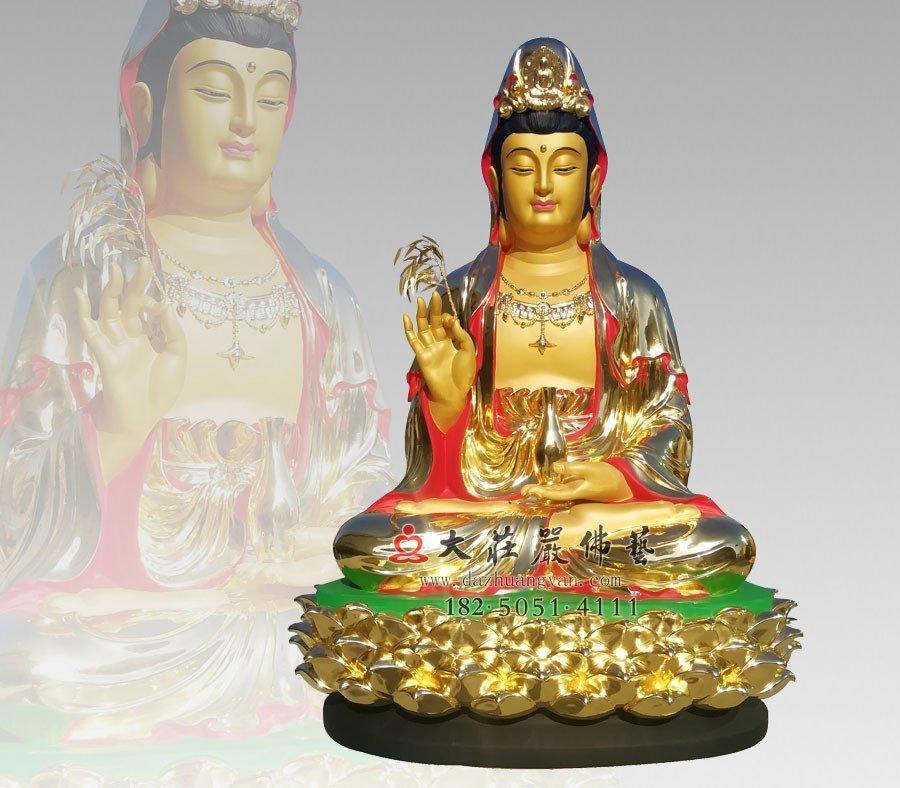 铜雕观音菩萨像价格,购买一尊铜雕观世音菩萨像要多少钱?