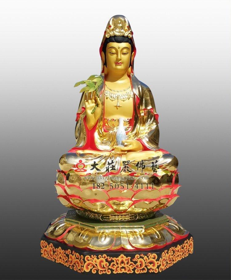 铜雕观音菩萨像定制,福建有定做铜雕观音菩萨像的厂家吗?