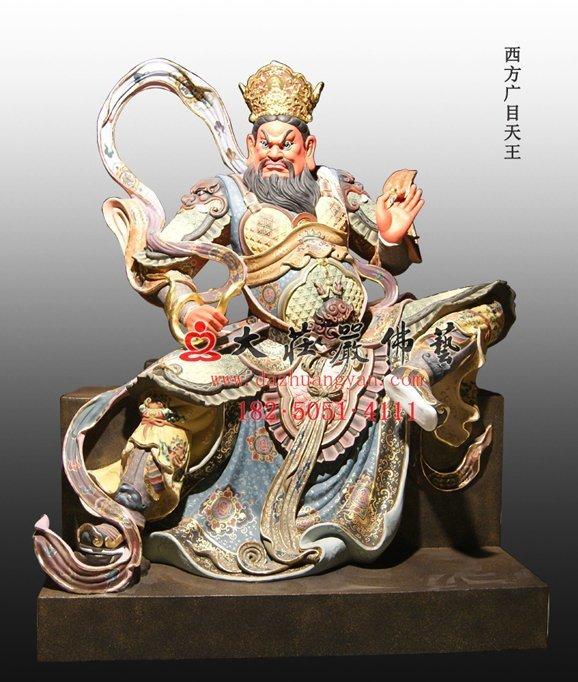 佛教护法天神四大天王塑像