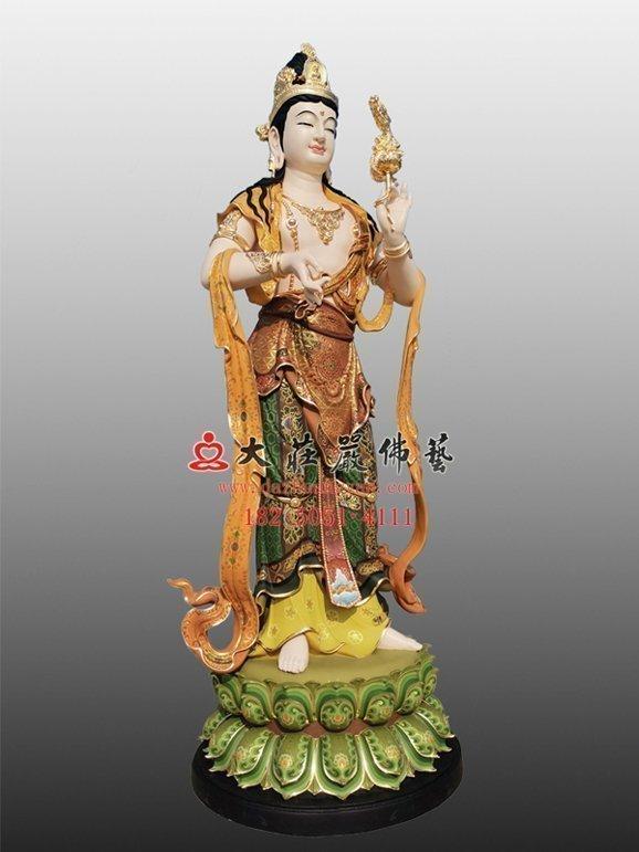 龙头观音塑像 乘龙观音雕塑 铜雕三十三观音佛像定制