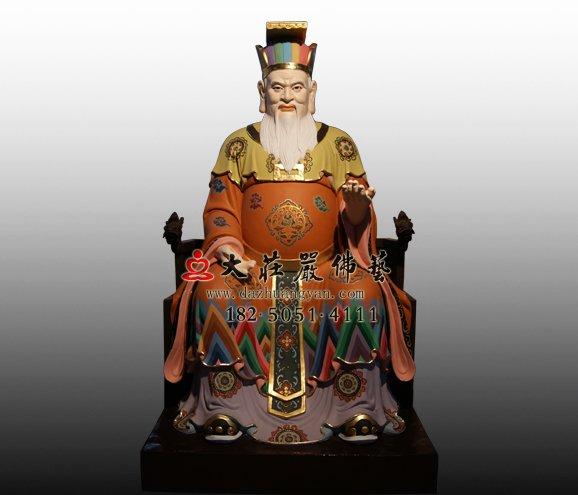 铜雕十殿阎王 铜雕道教神像